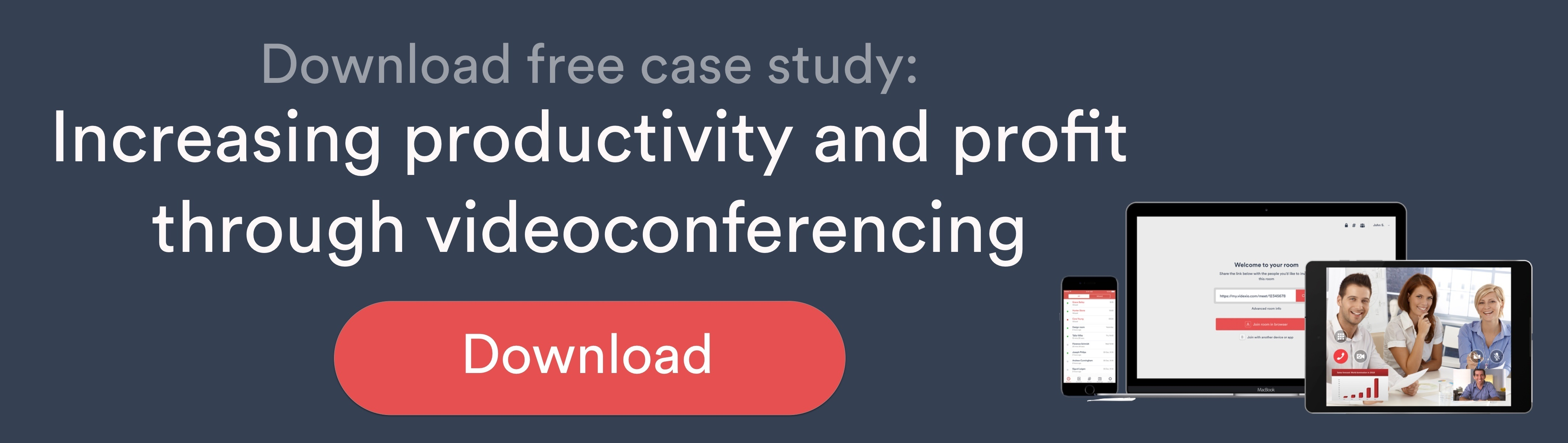 Increasing productivity and profit through videoconferencing