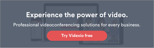 Try Videxio for free